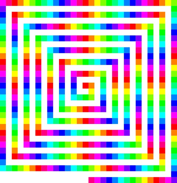 Square Color Spiral Pictures Of Geometric Patterns Amp Designs