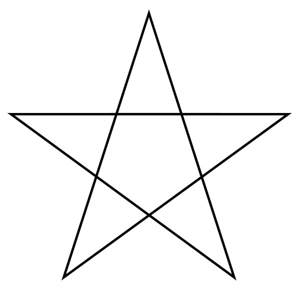 pentagram star picture